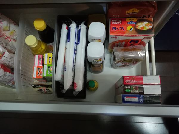 食品庫の写真