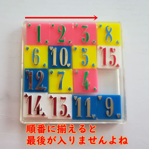 15パズル解き方①