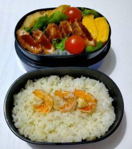 手作りお弁当の写真
